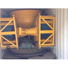China Wet Pan Mill für Gold in Sudan