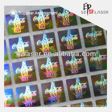 Hologram label manufacturer for wine bottle label