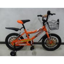 Menina das crianças e bicicleta da bicicleta do menino (FP-KDB035)