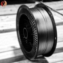 Le meilleur Fil de titane de nickel super-élastique noir de la qualité ASTM F2063 Dia 0.8mm