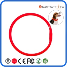 High Permance for Led Waterproof Dogs Training Collar Waterproof Lighted Up Safety Collars For Dogs export to Spain Exporter