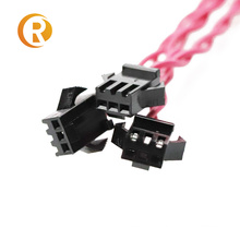 wire harness 24AWG JST XH 2.54 2 3 4 6 7 8 Pin Connector Plug terminal Wire custom cable Length