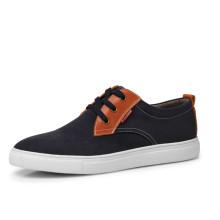 Lona superior esportes novo modelo 2014 homens moda sapatos casuais
