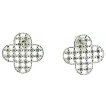 Good Quality & Fashion Lady Jewelry 3A CZ 925 Silver Earring (E6525)