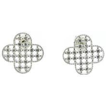 Хорошее качество и мода Lady Jewelry 3A CZ 925 Серебряная серьга (E6525)