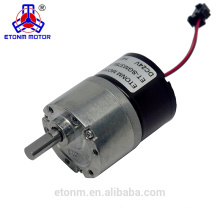 12V dc brush micro motor ET-SGM37BL Brushless gear motor