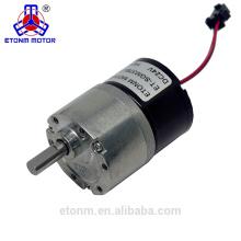 Motor da escova de 12V DC micro motor Motor da engrenagem de Brushless ET-SGM37BL