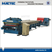 Color roof tile moulding machine