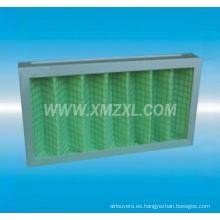 G3 / G4 plisado filtro de aire