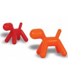 Perro en forma de silla de plástico de los niños (XS-134)
