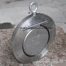 Válvula de retención de oblea de un solo disco