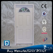 Fangda Exterior Glass Prehung Steel Door