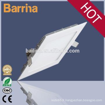 Barrina société sale18w chaud haute performance ultraminces panneau led dimmable lumière plafond léger avec CE Rohs