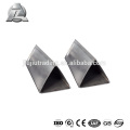 6061 t6 anodized aluminum triangular tube 10mm