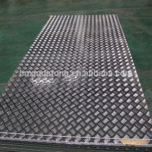 Checkered Embossed Aluminum Sheets