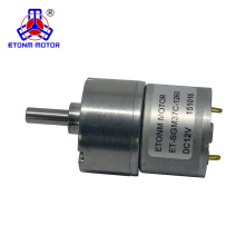 12 volt gear motor 100rpm with 37mm gearbox