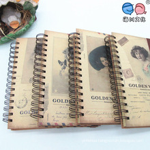 High Quality Full Color Printing Coil Notebooks with Elastic Band
