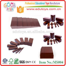 Montessori juguetes Brown Escalera
