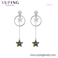 97416 cristaux élégants de la mode xuping de Swarovski, boucles d'oreilles fantaisie pour femmes