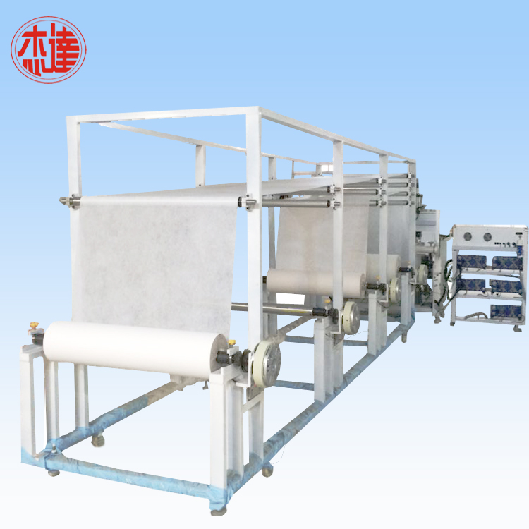 Ultrasonic Non Woven Fabric Quilting Machine