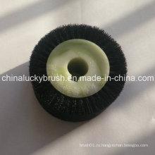 Щетка для щетины и нейлоновой смеси для семян (YY-418)