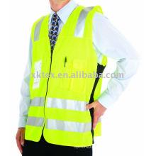 Gilet de sécurité HV avec ruban adhésif