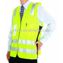 HV safety vest with tape