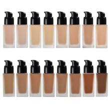 Custom Logo Full Coverage Private Label 16 Color Waterproof Natural Makeup Liquid Foundation