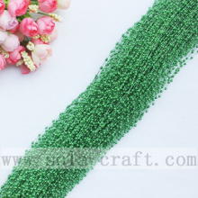 Purchasing for Pearl Bead Garland 3MM Rice –Size Dark Green Colors Wire Faux Pearl Beaded String For Décor export to Burundi Supplier