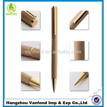 Luxury Business cadeau haute qualité stylo à bille en bois mince