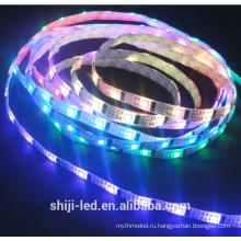 ws2801 Сид 32leds/м smd5050 Сид dc5v сила addressable прокладка водить RGB