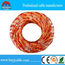 PVC-isolierte weiche elektrische verdrehte Draht, Rvs flexibler Draht