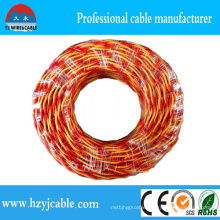 PVC Insulated Soft Electrical Twisted Wire, Rvs Flexible Wire