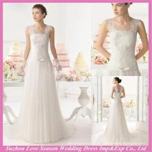 WD9115 Nuevo vestido de boda del diseño philippine con precio bajo