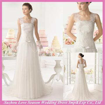 WD9115 Novo vestido de casamento de design filipino com baixo preço