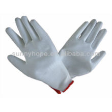 antistatic PU dipped work gloves