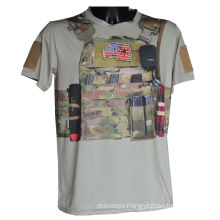 Fashion Tactical Outdoor Sports T-Shirt Military Kryptek Camo T-Shirt New Style