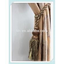Веревка для занавеса с занавесом, кисточка, бронзовая застежка Tassel Tiebacks