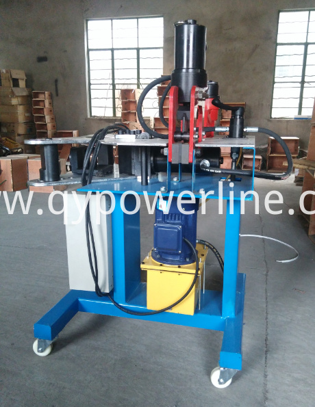 Hydraulic Busbar Processor Machine