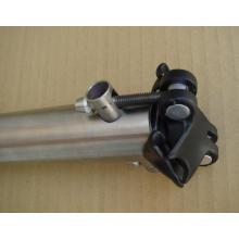 Tija de sillín de bicicleta alta Qualiry titanio