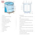Precio de la lata de alimentos / Cuerpo utilizado 2.8 / 2.8 Coating Tinplate Coil