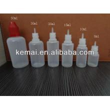 Bouteilles vides pour E-liquid