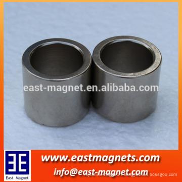 8 pôles anneau magnétique multipolaire / multi-pôles rotor moteur fabricant / multipolaire aimant en ferrite fritté