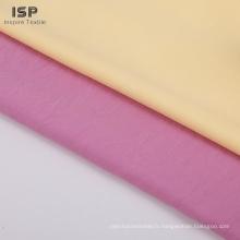 Tissu en rayonne tissé solide de haute qualité en stock