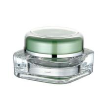 Acrílico cosméticos embalagem creme jar atacado