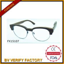 Comercial garantía 2015 madera y gafas de sol de bambú (FX15107)