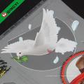 Autocollant de transfert de chaleur décalé personnalisé QingYi pour vêtements
