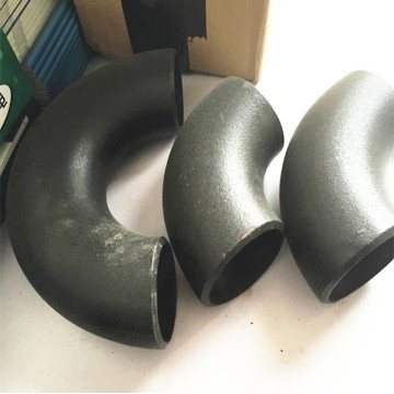 Black Paint ANSI B 16.9 Steel Elbow