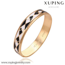 51265 -Xuping Simple Design Bangles Cheap Wholesale Jewelry Gold Bangles With Good Quantity