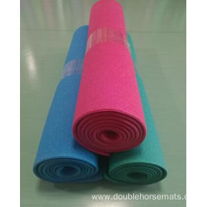 PVC material double color sports equipment mat